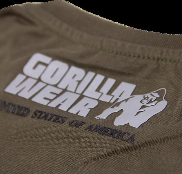Dakota Sleeveless T-shirt - Army Green